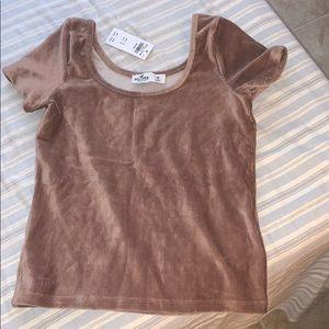 velvet shirt from hollister